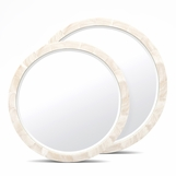 Catherine Shell Mirrors   Clam