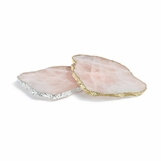 Caverna Stone Coasters Set | Rose Quartz
