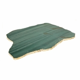 Caverna Stone Slab Tray | Green Quartz