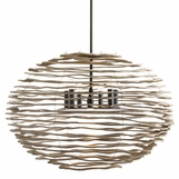 Cayucos Wood Chandelier