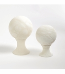 Cazi Alabaster Sphere Sculptures