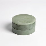 Cazi Alabaster Swivel Box | Green