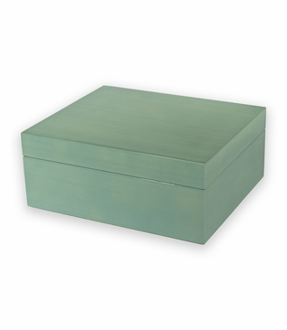 Cecily Lacquer Jewelry Box | Turquoise