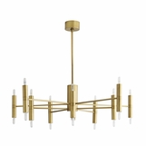 Chadwick Chandelier | Antique Brass