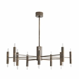 Chadwick Chandelier | Burnished Brass