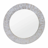 Chantal Round MOP Mirror