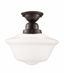 Charles Large Flush Mount | Bronze