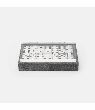 Chase Dominoes Set | Grey