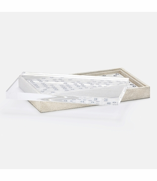 Chase Oversized Dominoes | Silvered