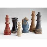 Checkmate Vintage Chess Pieces