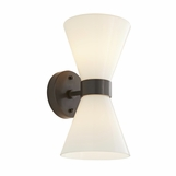 Chrono Outdoor Sconce | Dark Iron