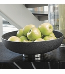 Cinder Ceramic Bowl | Black