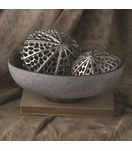 Cinder Ceramic Bowl | Grey