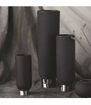 Cinder Ceramic Vases | Black
