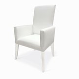 Clara Dining Arm Chair, Lucite