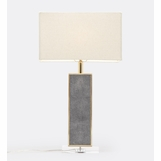 "Cline ""Shagreen"" Table Lamp 