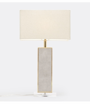 """Cline """"Shagreen"""" Table Lamp 