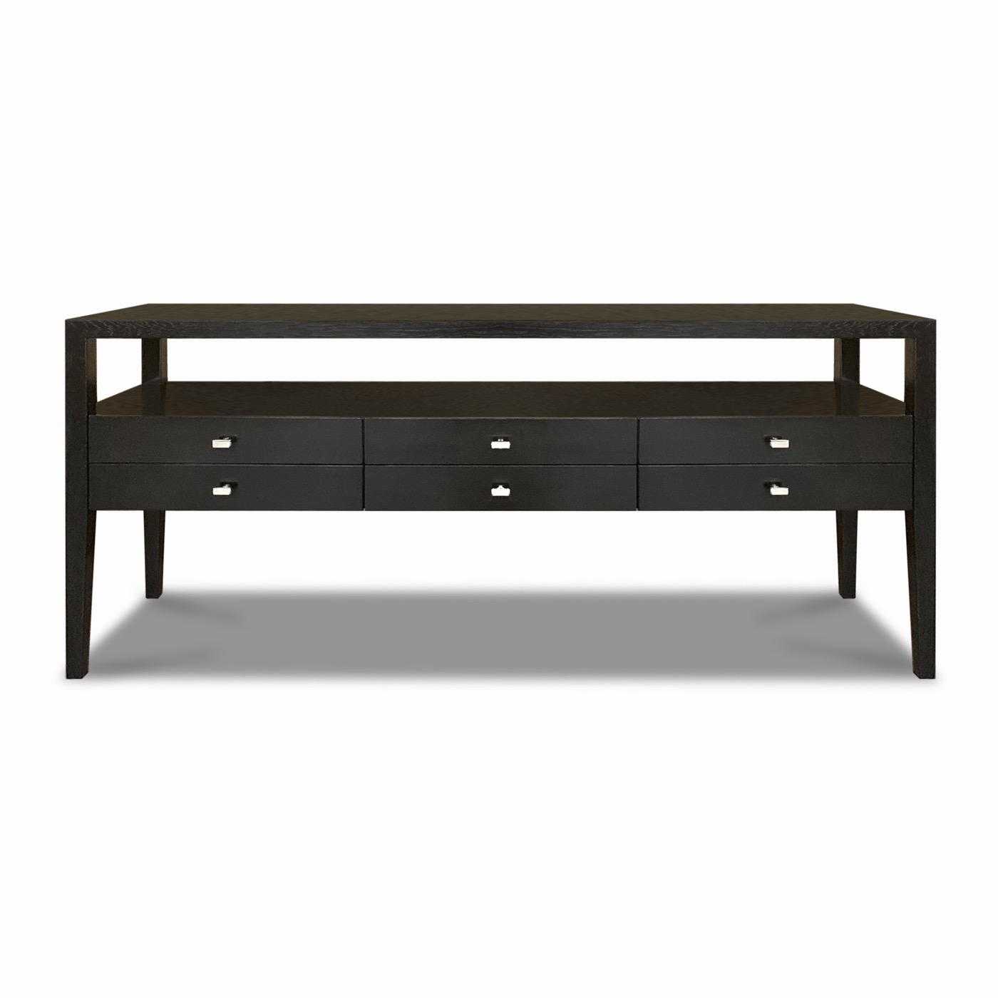 Cohen 6 Drawer Console Table Plantation