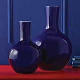 Colorful Porcelain Vases Set | Blue