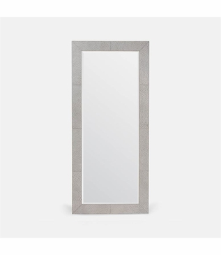 Conrad Floor Mirror | Grey