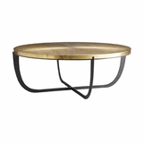 Copenhagen Bronze & Brass Coffee Table