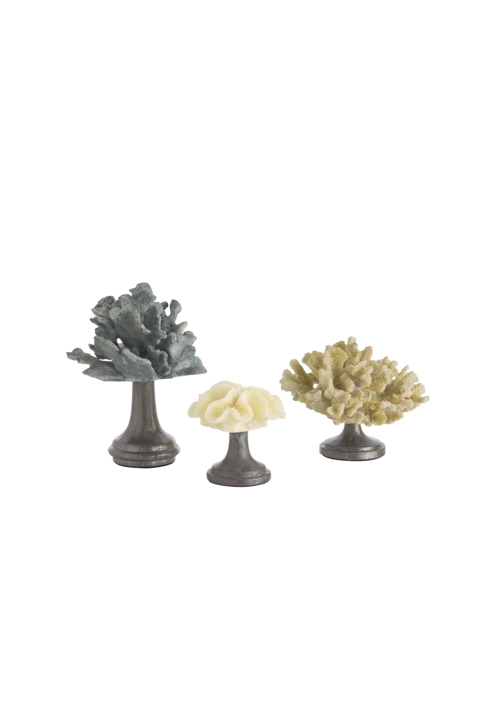 Quot Coral Quot Assorted Sculptures Set Plantation Design
