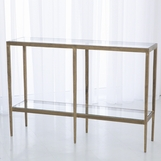 Corbett Console Table | Antique Gold