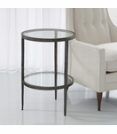 Corbett Round Side Table | Iron
