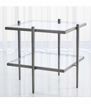 Corbett Square Side Table | Iron