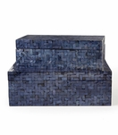 Corbin MOP Boxes Set | Dark Blue