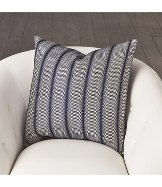 Cosgrove Embroidered Pillow | Blue