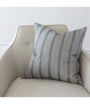 Cosgrove Embroidered Pillow | Grey