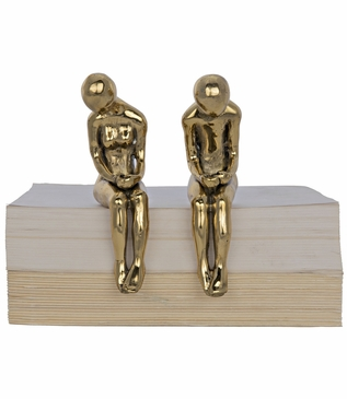 Courtship Brass Sculptures Set | Small