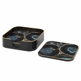 "Craddock Coasters Set | ""Agate"""