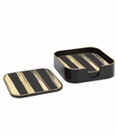 Craddock Coasters Set | Striped