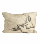 Cranio Linen Pillow | No. 2