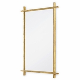 Cranston Rectangular Gold Mirror