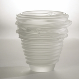 Cyclone Glass Vase