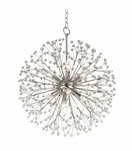 Dandelion Pendant | Polished Nickel
