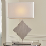Danson Table Lamp | Nickel