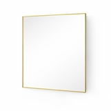 Darrow Square Brass Mirrors
