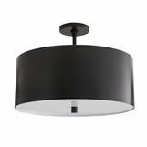 Darso Semi-Flush Mount | Bronze