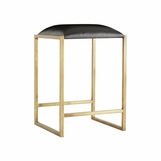 Dasher Brass Bar Stool | Counter Height