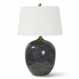 Davide Ceramic Lamp | Black
