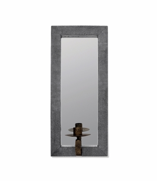 Deborah Mirrored Sconce | Grey