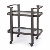 Delgado Bar Cart | Bronze
