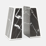 Demos Marble Bookends Set