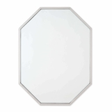 Denise Octagonal Wall Mirror | Nickel