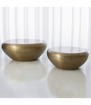 Dharma Cocktail Tables | Brass