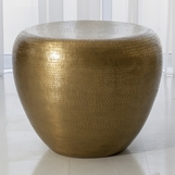 Dharma Side Table | Brass